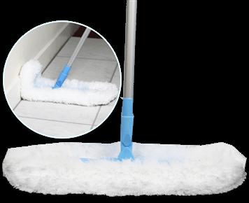 Швабра для сухой уборки с гибкими краями